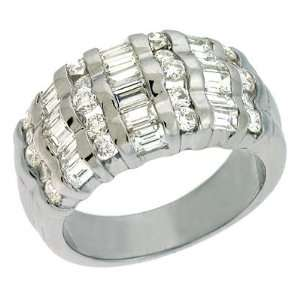S. Kashi & Sons D3014WG White Gold Diamond Band   14KW