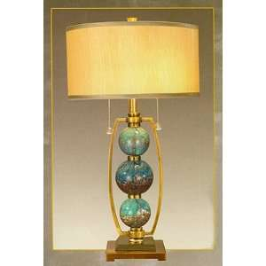 Milano Art Glass Table Lamp Home Improvement