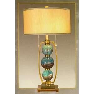 Milano Art Glass Table Lamp Home Improvement