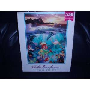 Christian Riese Lassen 550 Piece Puzzle: Under the Sea
