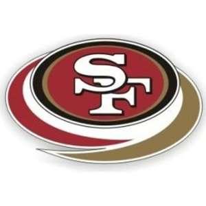 NFL San Francisco 49ers Die Cut Window Film   Large