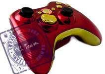 FIRE MODDED CONTROLLER MW3 COD CALL OF DUTY 8 QUICK SCOPE GOW 3