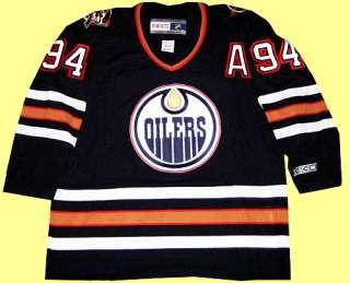 Autographed Ryan Smyth Edmonton Oilers Jersey (blue)