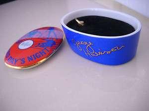 Beatles Franklin Mint Music Porcelain Music Box Hard Days Night