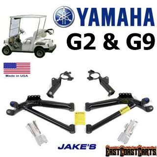 Yamaha Golf Cart G9 & G2 JAKES 6 A Arm Lift Kit #6251 (