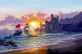 Disney Fine Art OUT OF THE SEA Ariel LITTLE MERMAID BIN
