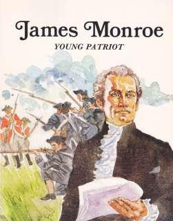 James Monroe Young Patriot Troll Colonial America President Biography
