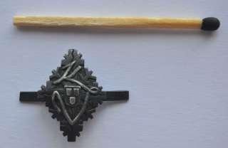 1930s Estonia Military Forces Small Cap Hat Badge KV