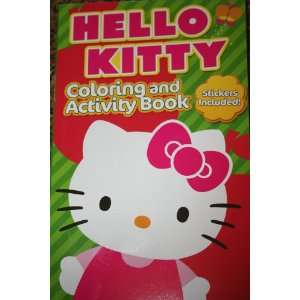 Hello Kitty Coloring and Activity Sticker Book Toys