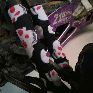 RED EYED SKULLS HPI SAVAGE SHOCK COVERS ; socks