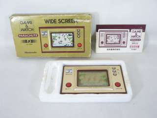 Nintendo Game & Watch PARACHUTE Wide Screen Boxed PR 21 Import JAPAN