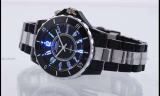 OHSEN 7 Color LED Digital Analog Lady Men Quartz Watch