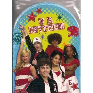 Disney High School Musical Invitations & Thank You Cards & Envelopes