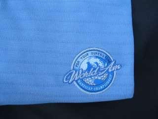 NEW Cutter & Buck Polo Golf SS Shirt Mens L World AM