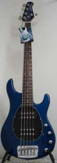 NEW Ernie Ball MusicMan Sterling 5 String Bass HH Blue Pearl