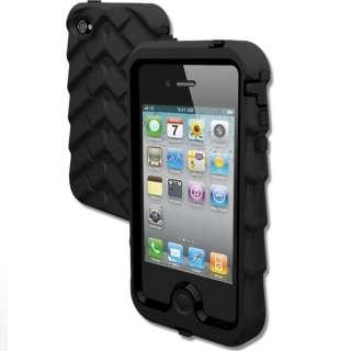Gumdrop Drop Tech Series iPhone 4 & 4S Case BLACK/BLACK LATEST VERSION