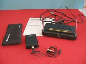 Freeway 600 Series Clip on Wireless Microphone System