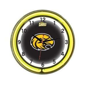 Southern Miss Golden Eagles Neon Wall Clock   18