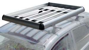 55x38 Aluminum Roof Basket Top Cargo Carrier Rack Large