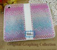 Rhinestone Bling Wallet Case Cover F iPhone 3 3G/S#A524