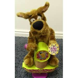 Scooby Pogo Stick Bouncing 14 Inch Plush Scooby Doo Doll Toys & Games