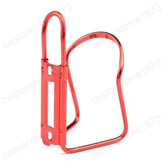 Aluminum Sports Bicycle Bike Water Bottle Rack Cage Cycle Drinks