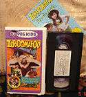 PBS KIDS ZOBOOMAFOO Sense Sational Animal Friends Vhs Video RARE FREE