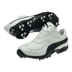 Puma PG SYM Mens Golf Shoe   White/Black   183780 01