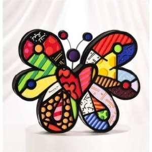 Romero Britto Butterfly Figurine