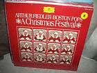 Arthur Fiedler*Boston Pops A Christmas Festival 33 Stereo Record