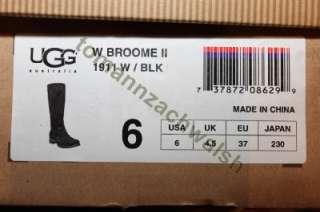 UGG Broome II 1911 Black Tall Winter Boot SZ 6 NIB $260 |