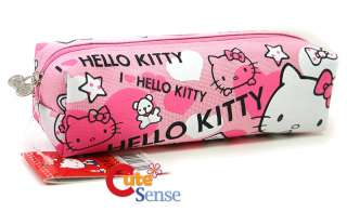 Sanrio Hello Kitty Pencil Case/Bag Pink Love Canvas