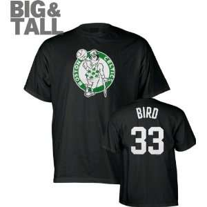 Big and Tall Name and Number Boston Celtics T Shirt