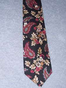 Walt Disney Mickey Mouse Mens Tie Silk EUC