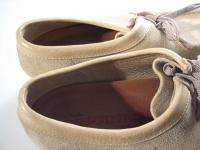 Clarks ORIGINALS Wallabees Womens Tan Suede Sz US 9 EUR 40