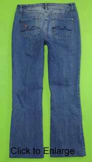 Faded Glory sz 10 x 30 Stretch Womens Blue Jeans Denim Pants GI47