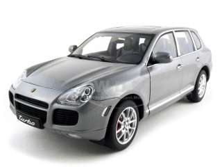 18 autoart porsche cayenne turbo black rare new