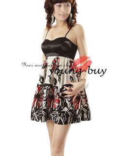 Black Spaghetti Women Mini Dress UK Size 8 W995