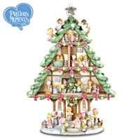Precious Moments Sharing Christmas Joy Tabletop Tree