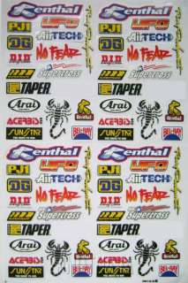 mini bike moto racing pocket rocket sticker kit decal x