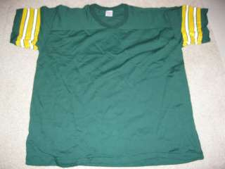 GREEN BAY PACKERS NFL FOOTBALL VINTAGE 1980s RAWLINGS MENS JERSEY(2XL