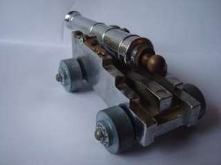 on a Vintage Mini Toy Diecast Cap Gun Navel Cannon Made in Italy