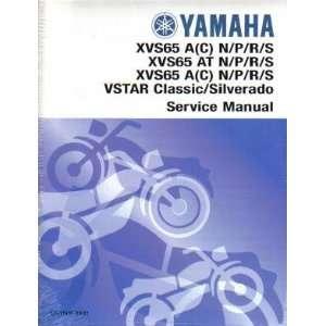 Yamaha XVS650 V Star Silverado Classic Factory Service Manual Yamaha