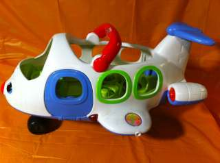 Fisher Price Little People Airport Airplane with Sound