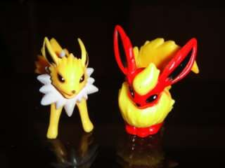 POKEMON FIGURES Eevee Vaporeon Jolteon Flareon Espeon Umbreon