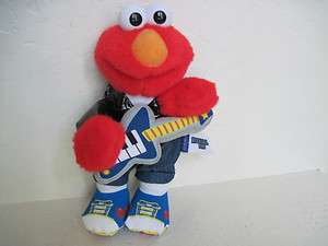 Fisher Price Sesame Street ROCK & ROLL ELMO Plush Stuffed Animal
