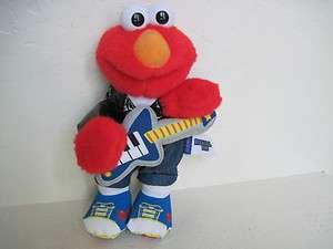 Fisher Price Sesame Street ROCK & ROLL ELMO Plush Stuffed Animal