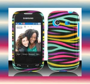 eRZebra Samsung Character SCH R640 Faceplate Snap on Phone Cover Hard