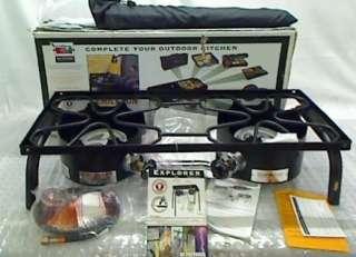 Explorer Series EX 60LW 2 Burner Modular Cooking System, Black