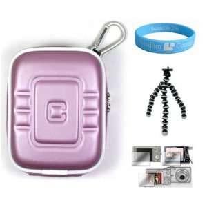 Slim Sized Digital Camera Purple Case for 3rd Generation Flip UltraHD